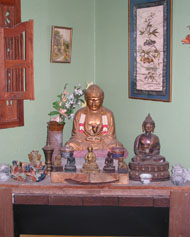 Buddha in the living room
