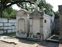 Typical New Orleans crypts